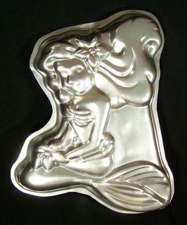Wilton Cake Pan Ariel Little Mermaid Disney 2105 3400