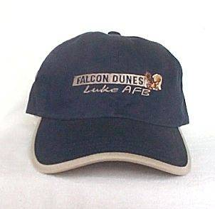 FALCON DUNES GOLF COURSE LUKE AFB* GOLF HAT CAP *IMPERIAL HEADWEAR*