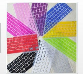 "11 Colors Silicon Keyboard Cover Skin for ALL Macbook Pro 13 "" 15"