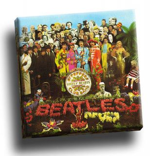 Sgt Peppers Lonely Hearts Club Band Giclee Canvas Album Cover Picture