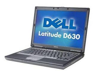 Dell Latitude C2D D630 2.0Ghz DVD Burner WINDOWS 7 Pro, OFFICE Laptop