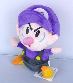 NEW 7 Super Mario Bros.Plush Doll Figure Baby Waluigi Purple BB