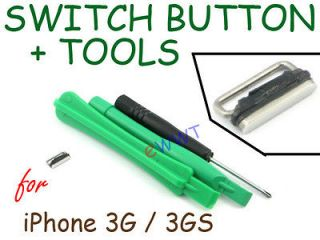 Power Switch Lock Key Button Repair Part Unit +Tools for iPhone 3G