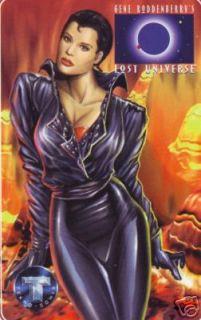 Gene Roddenberrys Lost Universe phone card