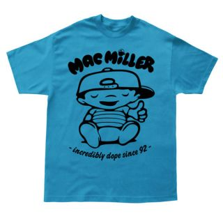 MAC MILLER BEST DAY EVER T SHIRT   HOODIE/CREWNECK/JUMPER WIZ KHALIFA