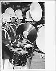 1981 Tampa Bay Buccaneers Marching Band Field Press Pho