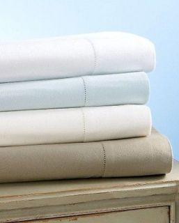 Martha Stewart Luxury Flannel White Queen Sheet Set