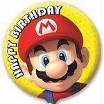 Super Mario Bros Party   18 Happy Birthday Foil Balloon