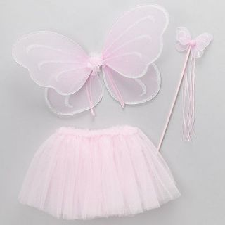 Newly listed Pink Fairy Princess Costume Tutu Set w/ Butterfly Fairy
