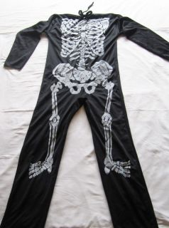 Halloween costume Fancy Dress Boys Skeleton 1 piece garment 7 / 8 / 9