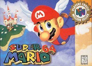 Nintendo 64 Super Mario 64 in Video Games