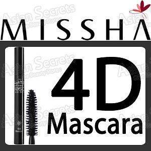MISSHA The Style 4D Mascara   Black / Best Selling Item
