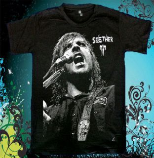 Seether rock metal band Korn Unisex Evanescence T Shirt Sz.S,M,L,XL