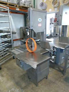 Biro 1433   Meat Saw   Stainless Base and Head   Refurbished