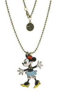 Disney Couture Dr. Rx Romanelli Mickey Mouse 7 Head Necklace
