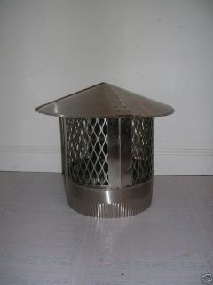 stainless steel chimney cap in Heating, Cooling & Air