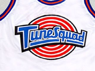 MICHAEL JORDAN TUNE SQUAD SPACE JAM MOVIE JERSEY WHITE NEW ANY SIZE