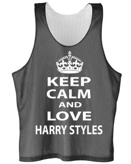 Keep Calm And Love Harry Styles mesh jersey