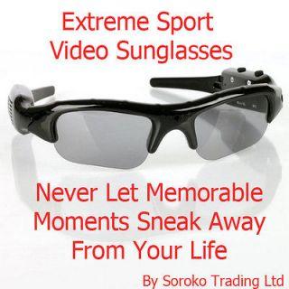 SPORT Sunglasses Sun Glasses DV Spy Camera DVR Video Audio Recorder