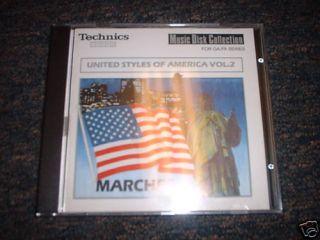 Technics Organ Software United Styles of America Vol. 2