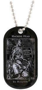 HEAD The Blackening Official Metal DOG TAG PENDANT NECKLACE NEW