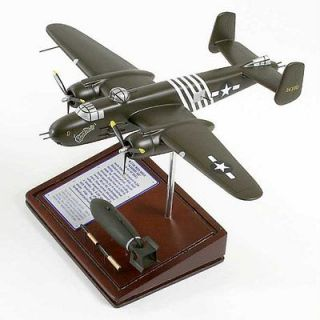 25H MITCHELL BARBIE WW2 MILITARY DISPLAY WOOD MODEL AIRPLANE