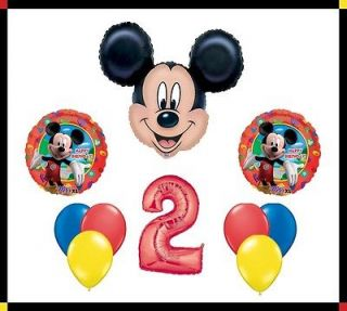 Disney Mickey Mouse Clubhouse 2 Happy Birthday Balloon Set Party