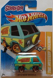2012 Hot Wheels New Models The Mystery Machine 38/50 (SCOOBY DOO)