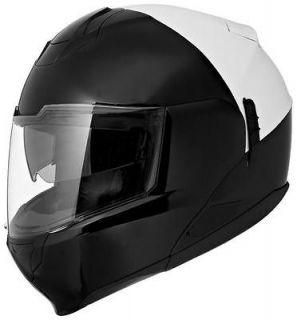 Scorpion EXO 900 Police Modular Motorcycle Helmet White/Black LG/Large