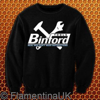 9043 BINFORD TOOLS SWEATSHIRT inspired by HOME IMPROVEMENT tv COMEDY