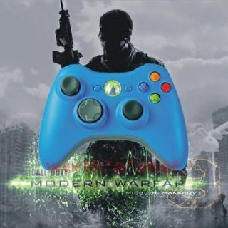 New Blue Xbox 360 Rapid Fire Modded Drop Shot Controller 12 Mode