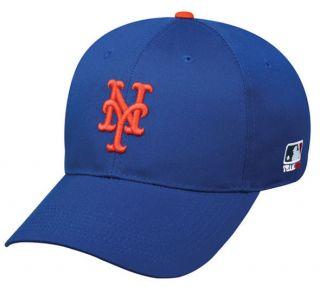 MLB velcro adjustable replica Baseball cap hat (NEW YORK METS) youth