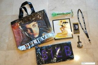 Newly listed JUSTIN BIEBER FAN CLUB TOUR VIP BELIEVE PACKAGE   BAG