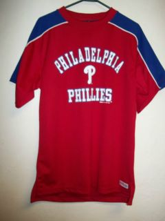 PHILADELPHIA PHILLIES BASEBALL JERSEY SHIRT MENS MEDIUM IN EXCELLENT