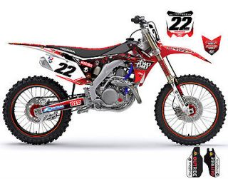 CHAD REED TEAM TWO TWO MOTORSPORTS CRF450 HONDA GRAPHICS KIT (2013