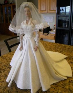 PRINCESS KATE S WEDDING GOWN PATTERN ELLOWYNE WILDE