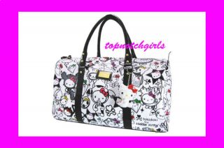 AUTHENTIC tokidoki Hello Kitty 35th Anniversary Boston Duffle bag GYM