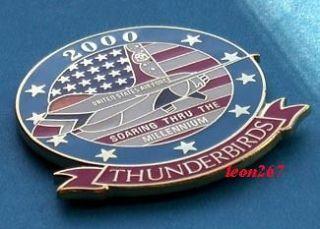 AIR FORCE YEAR 2000 THUNDERBIRD PIN L@@K