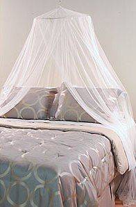 Mystere White Mosquito Net Bed Net Canopy Brand New
