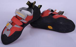 LA Sportiva Mantis Rock Climbing Shoe Velcro Euro Size 38 1/2 NEW