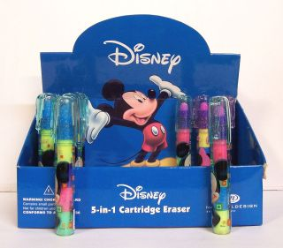 11 NEW Disney Mickey Mouse Clubhouse Minnie 5 in 1 Cartridge Eraser
