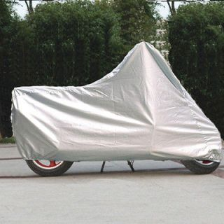 New Motorcycle Cover Sport Bike Scooter Moped Sunproof UV Protection