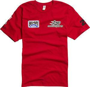 Shift Team Two Two 22 Motorsports Replica Tee T Shirt Chad Reed Chad