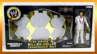 Jakks WWE Classic TED DIBIASE MILLION DOLLAR MAN Championship BELT