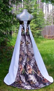 camo wedding dress in Wedding Dresses