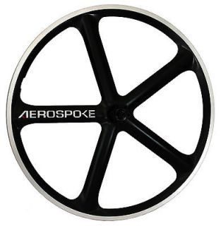Aerospoke 26 Carbon Mountain Bike Rear Wheel, Disc Brake Compatible