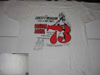 Double Agent 73 Chesty Morgan T Shirt XL Doris Wishman