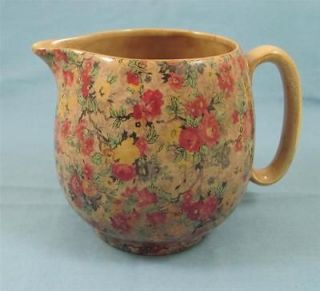 Vintage Chintz Lord Nelson Ware Marina Water Or Milk Pitcher