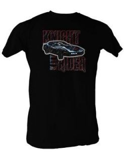 Knight Rider T Shirt Blue Kitt Car David Hasselhoff Soft Adult S XXL
