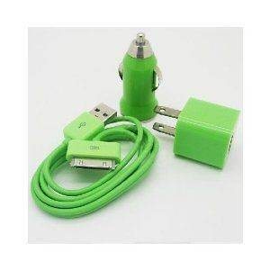 Car Charger + Travel Charger + Sync Cable Apple iPod Touch 3rd Gen *US
